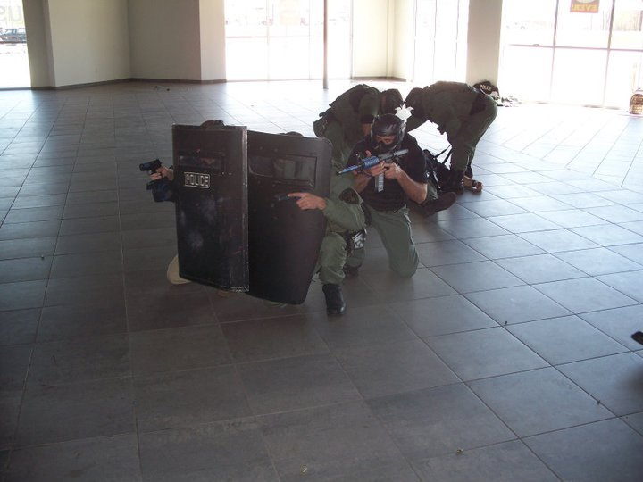 Indoor scenario training