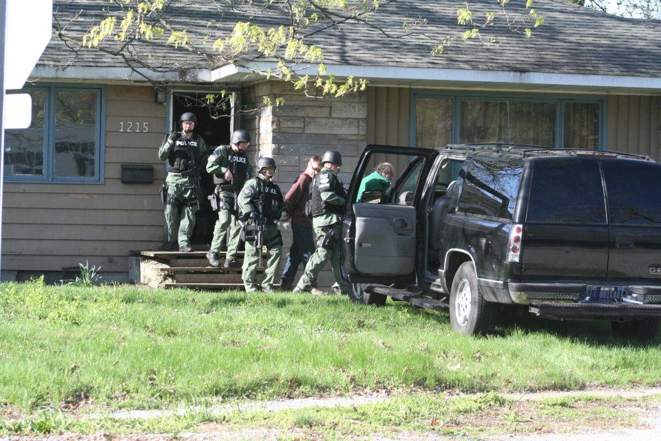 Search warrant in Griffith, IN