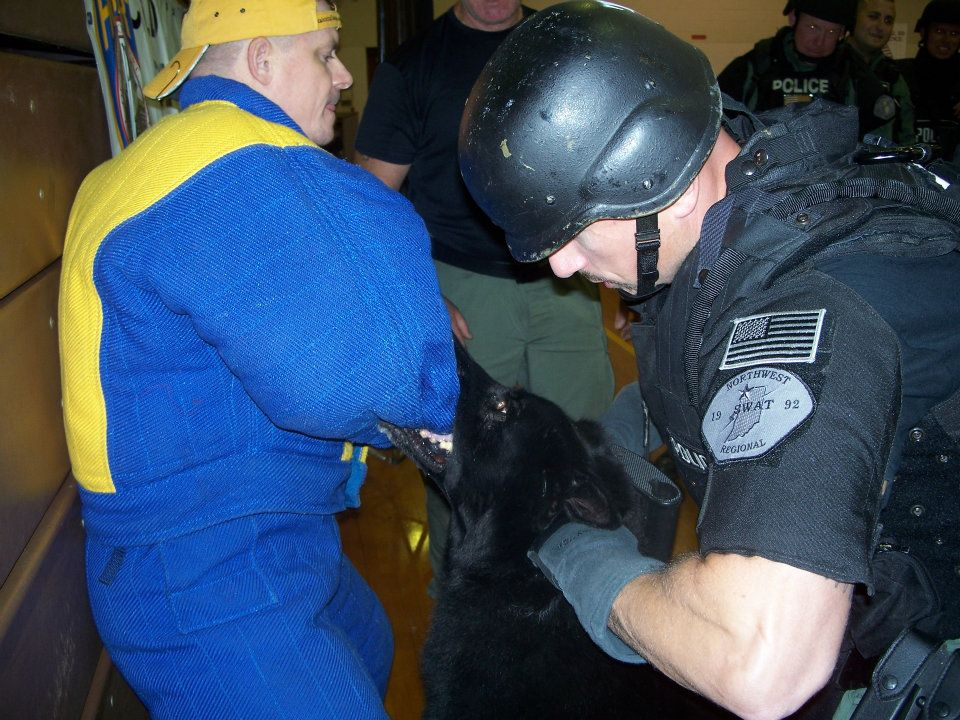 K9 SWAT Deployment Training